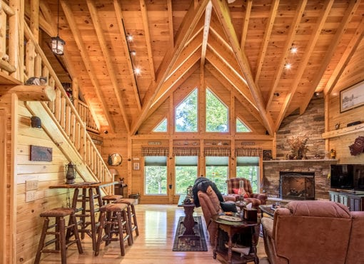 Log Cabin Floor Plans and Houses, Log Home Designs - Photo ... on caribbean house plans design, western house plans design, amish kitchen design, amish furniture design,