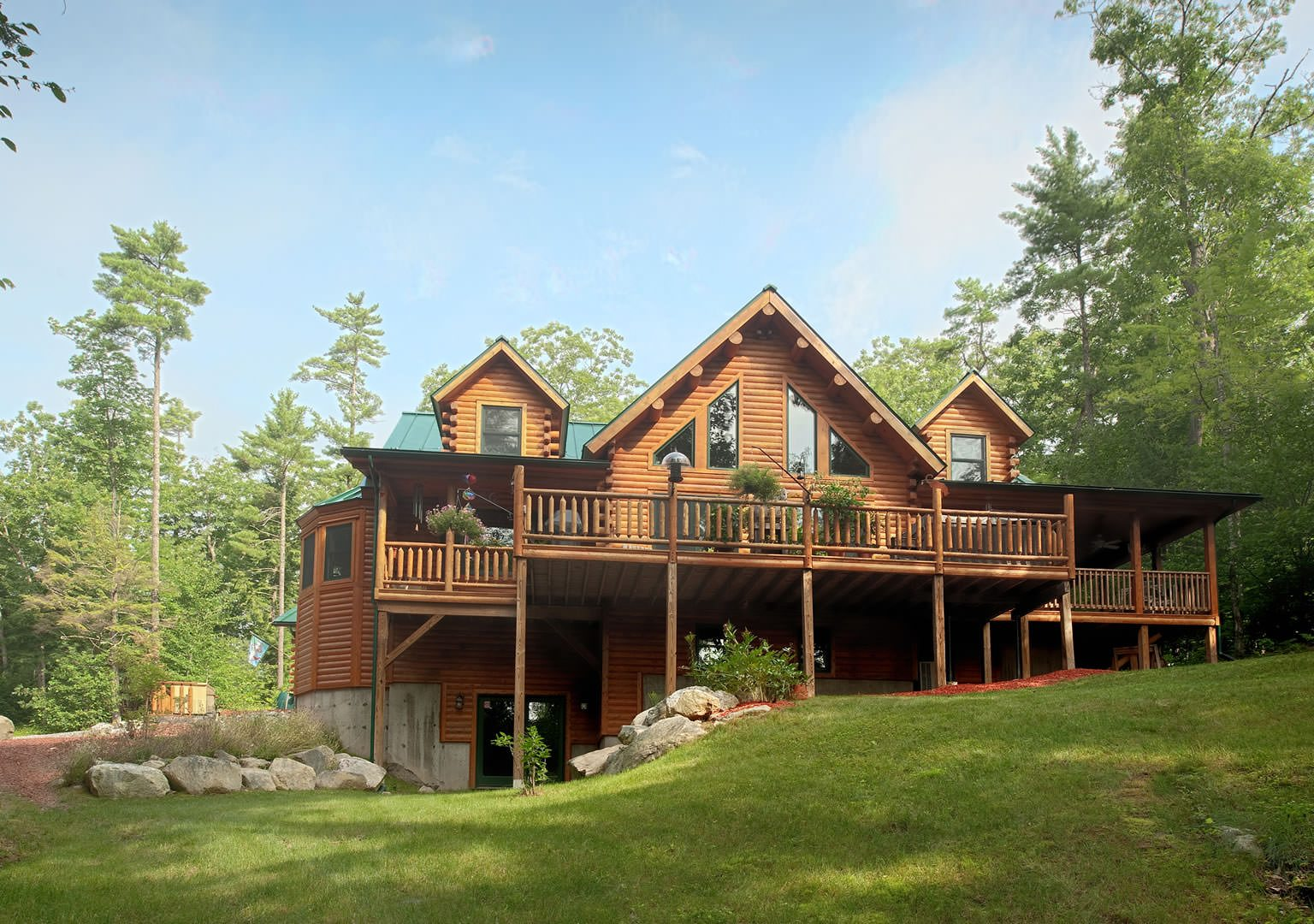 Cedar log home plans for Cedar house plans