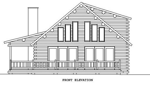 Log Home Plan #00668