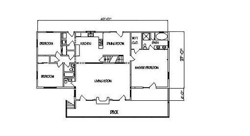 Log Home Plan #00671