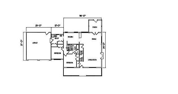 Log Home Plan #00685