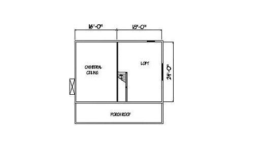 Log Home Plan #00689