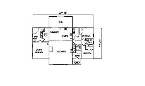 Log Home Plan #00691