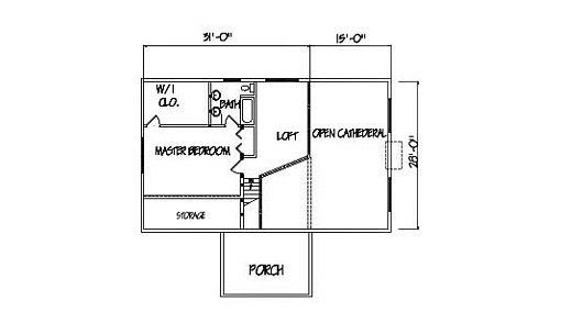 Log Home Plan #00697