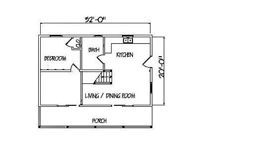 Log Home Plan #00705
