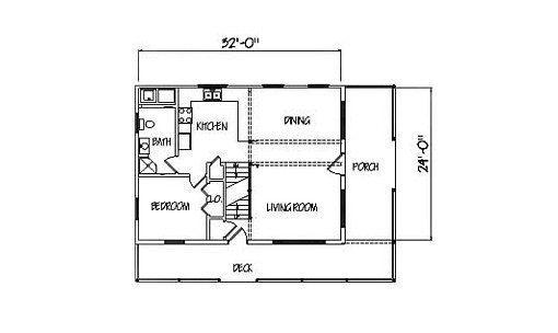 Log Home Plan #00712