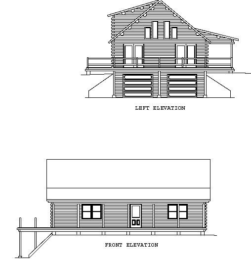 Log Home Plan #00714