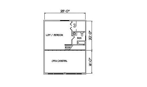 Log Home Plan #00716