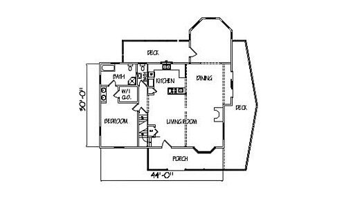 Log Home Plan #00717