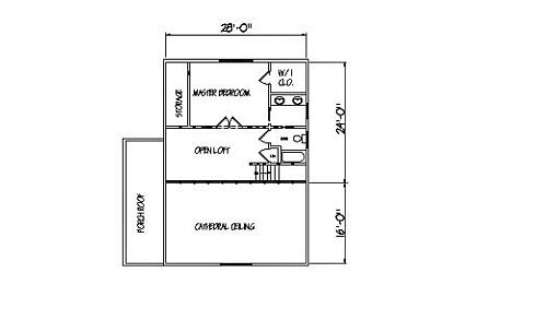 Log Home Plan #00719