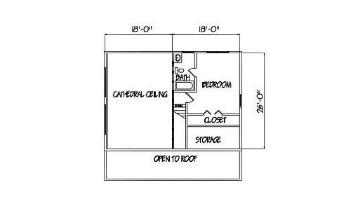 Log Home Plan #00727