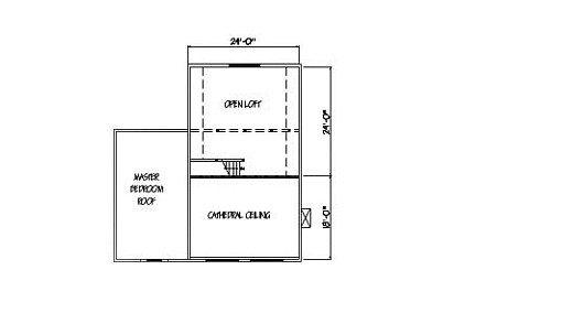 Log Home Plan #00736