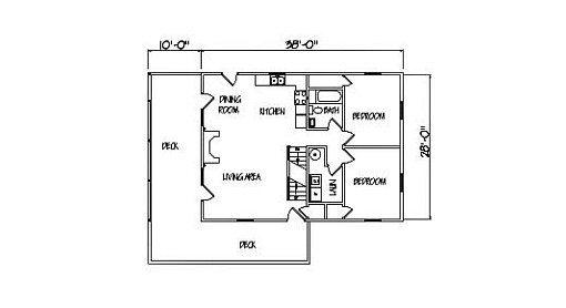 Log Home Plan #00750
