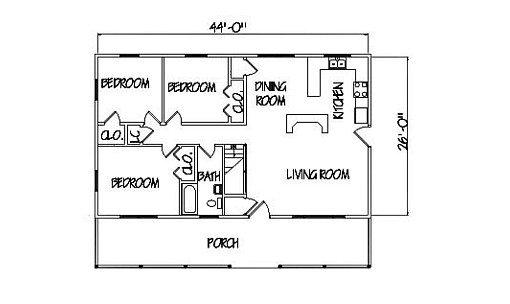 Log Home Plan #00751