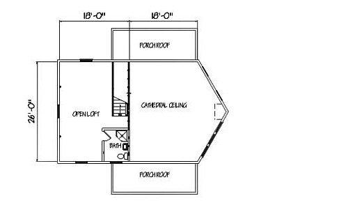 Log Home Plan #00753
