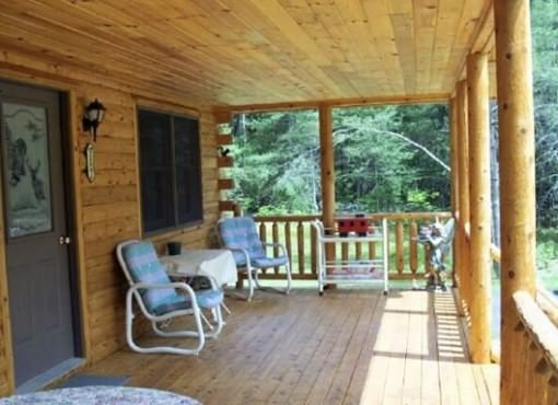 Log Home Plan #00754