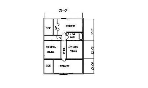 Log Home Plan #00759