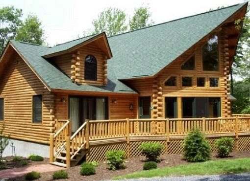 Log Home Plan #00767