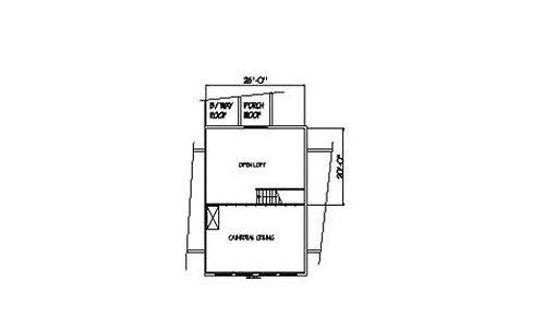 Log Home Plan #00787