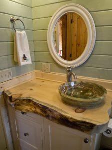 katahdin cedar log home live edge design