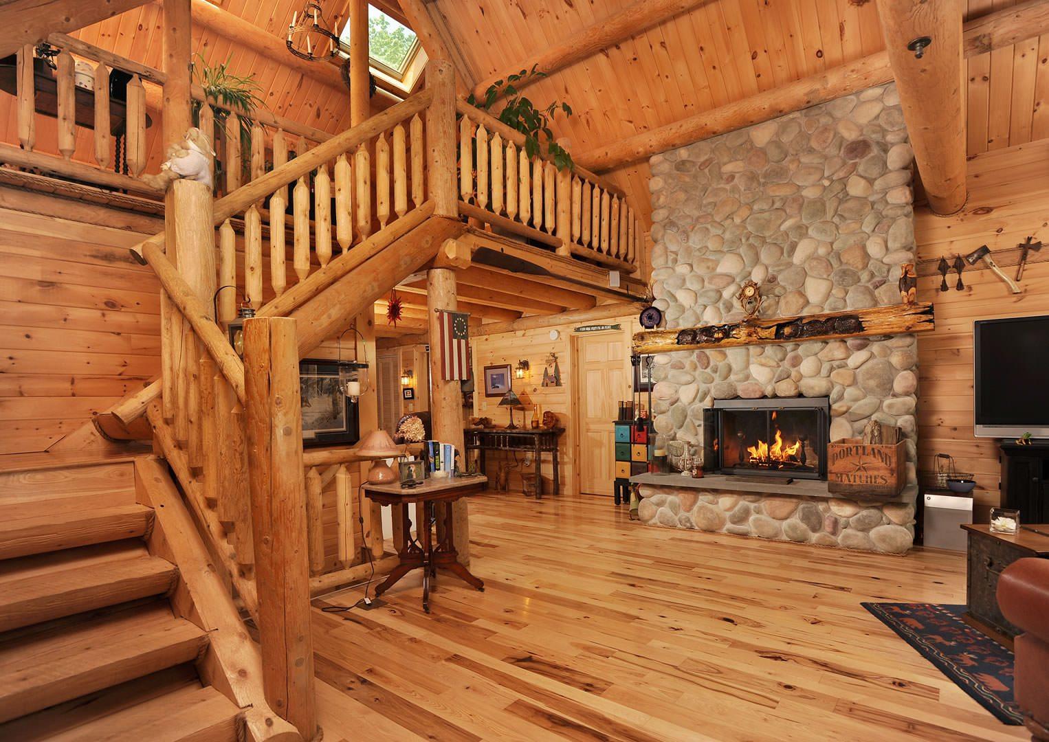 Bonanza Katahdin Cedar Log Homes Floor Plans