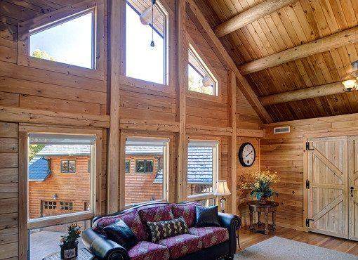 Log Home Plan #05484