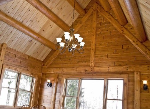 Log Home Plan #07791