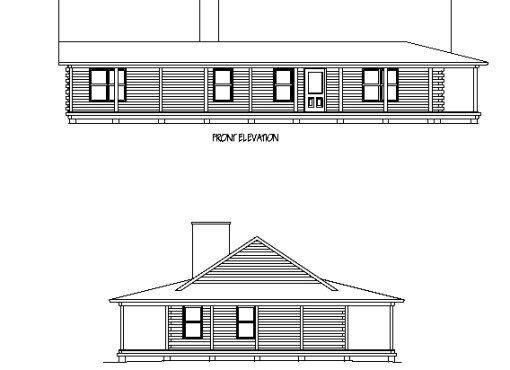 Log Home Plan #01779