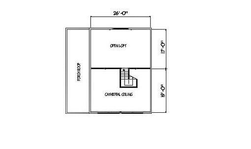 Log Home Plan #01786