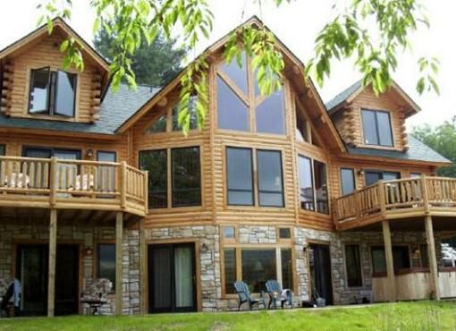 Log Home Plan #01802