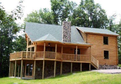 Log Home Plan #01804