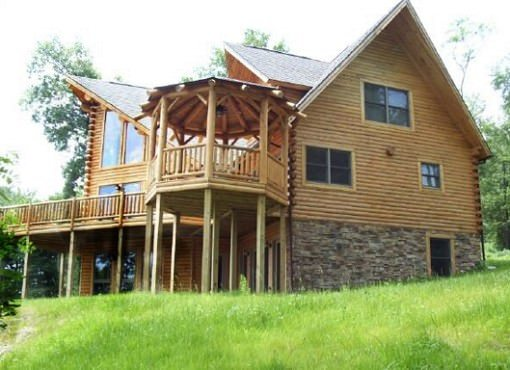 Log Home Plan #01810