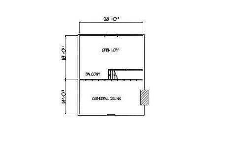 Log Home Plan #01817