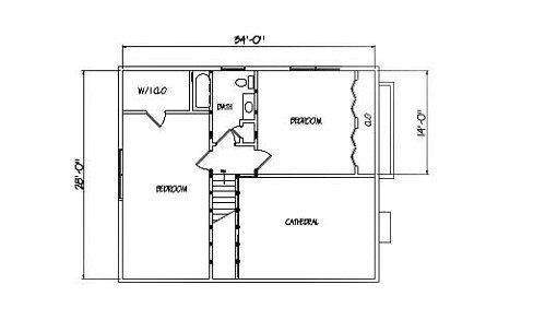 Log Home Plan #01820