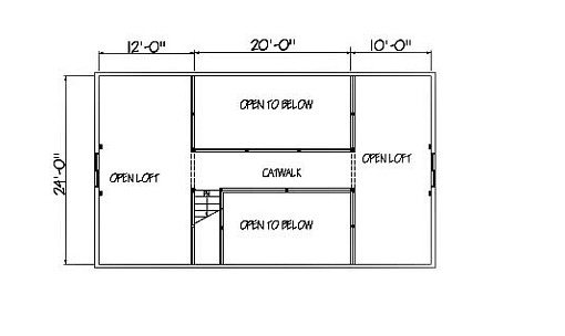 Log Home Plan #01825