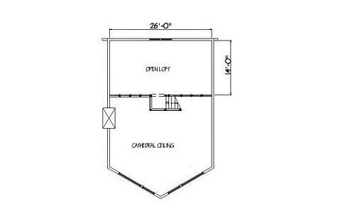 Log Home Plan #01834