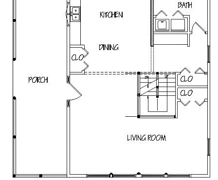 Log Home Plan #01851