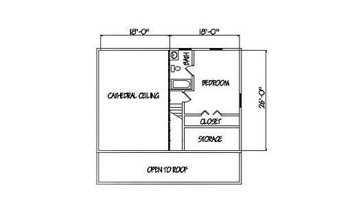Log Home Plan #01854