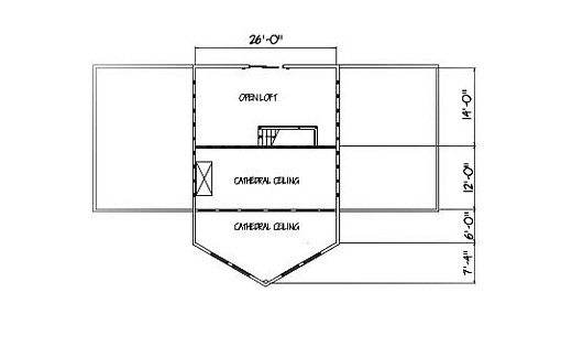 Log Home Plan #01858