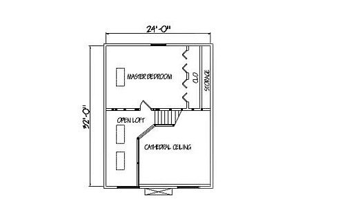 Log Home Plan #01880