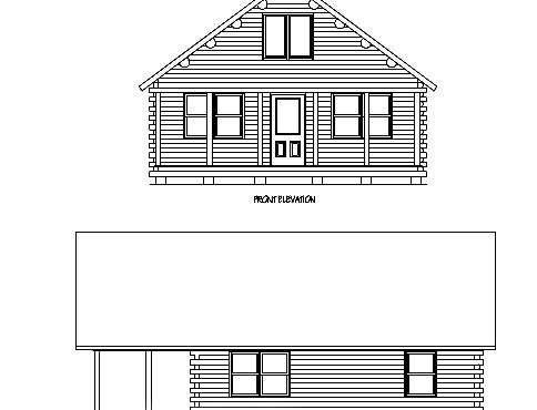 Log Home Plan #01881