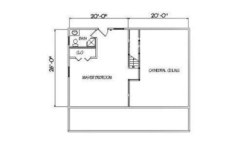 Log Home Plan #01901