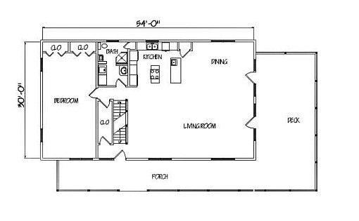 Log Home Plan #01902