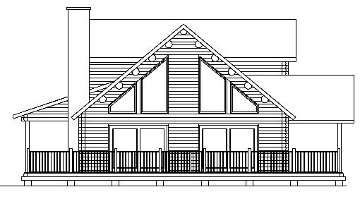 Log Home Plan #01903