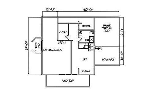 Log Home Plan #01906S