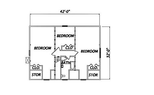 Log Home Plan #01911