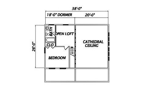 Log Home Plan #01920