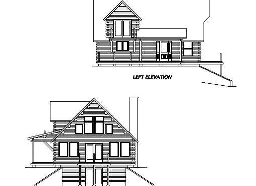 Log Home Plan #01959