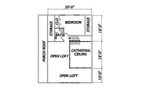 Log Home Plan #02002