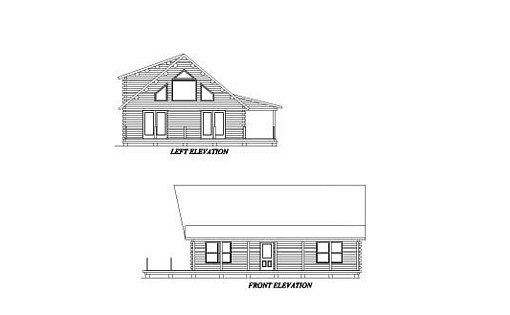 Log Home Plan #02004